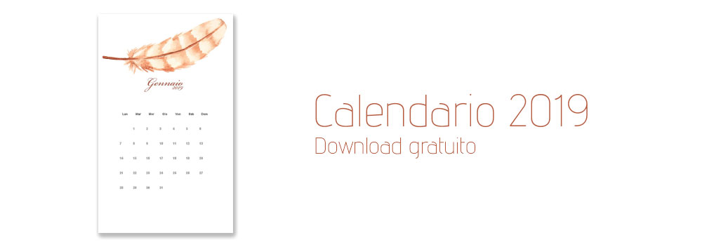 Calendario 2019 - Download gratuito